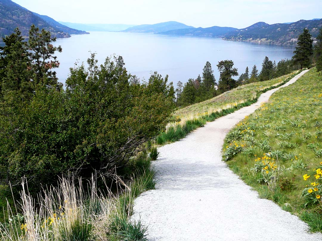 Okanagan Lake view from Knox Mountain