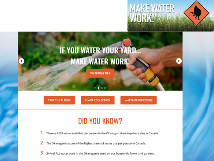 Link to the Make Water Work website of interest for naturalization projects in BC