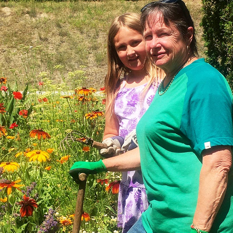 Judie Steeves- President of the Okanagan Xeriscape Association