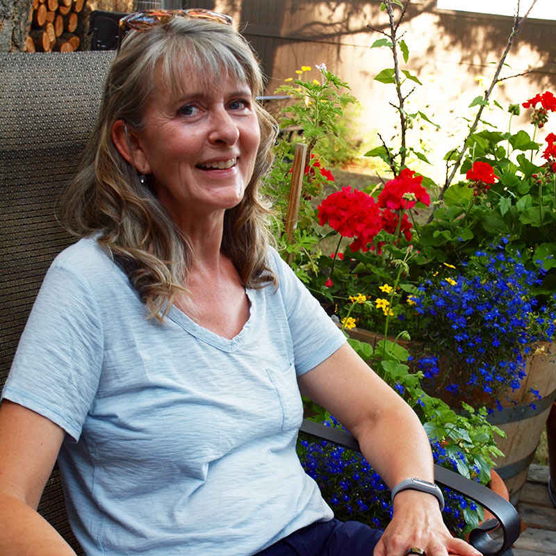 Lisa Masini- Secretary of the Okanagan Xeriscape Association