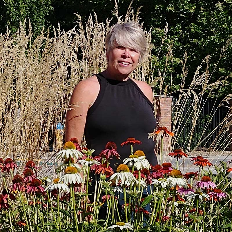 Marion Barschel- Vice-President of the Okanagan Xeriscape Association