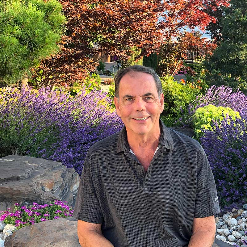 Mark Godlewski- Treasurer of the Okanagan Xeriscape Association
