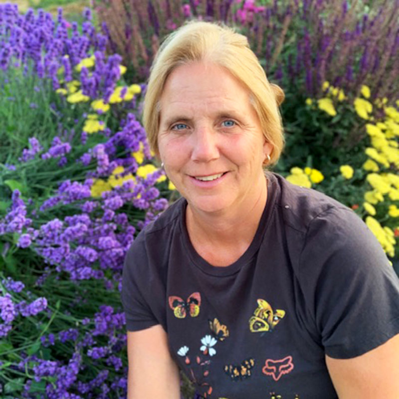 Joan Byrne- Board Member of the Okanagan Xeriscape Association