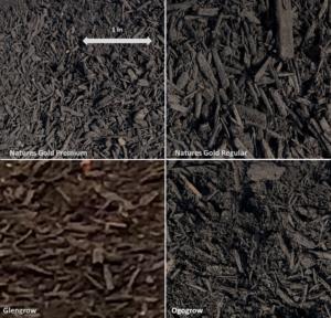 mulch choices, composted mulch