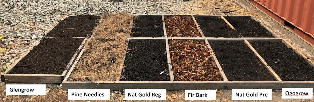 mulches tested for flammability