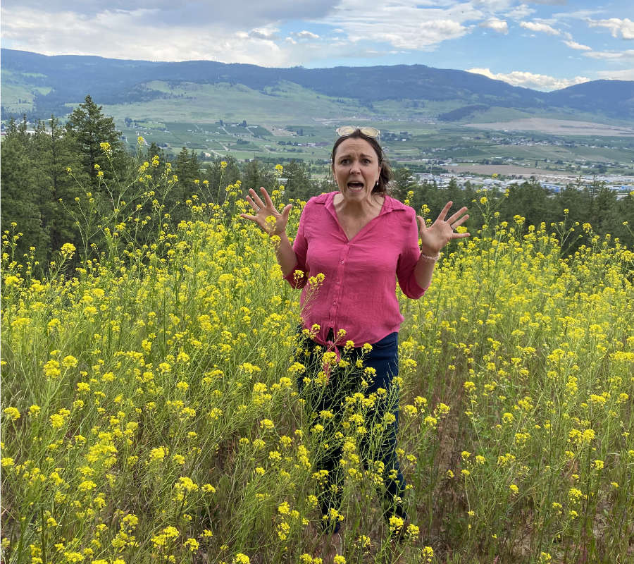 Jessica Hobden- Board Member of the Okanagan Xeriscape Association